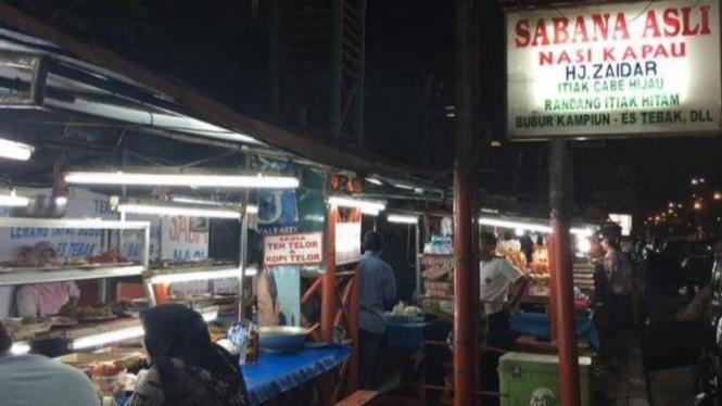 Penjual Nasi Kapau