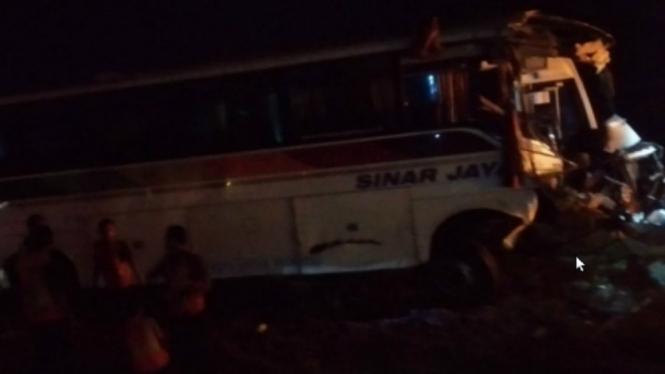Kecelakaan Bus di Tol Cipali, Berikut Identitas 7 Korban Tewas