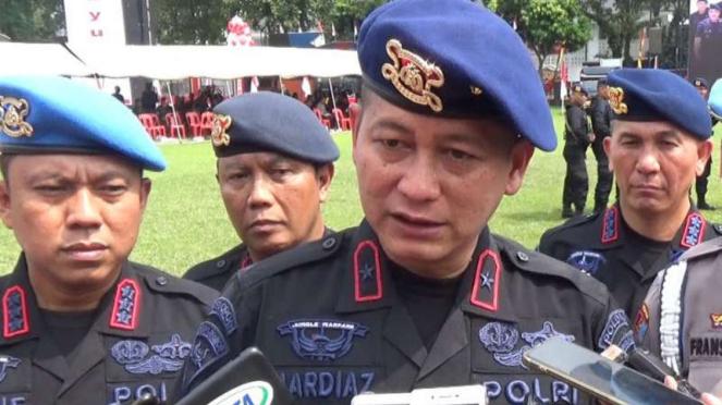 Wakapolda Sumatera Utara Brigadir Jenderal Polisi Mardiaz Kusin Dwihananto.