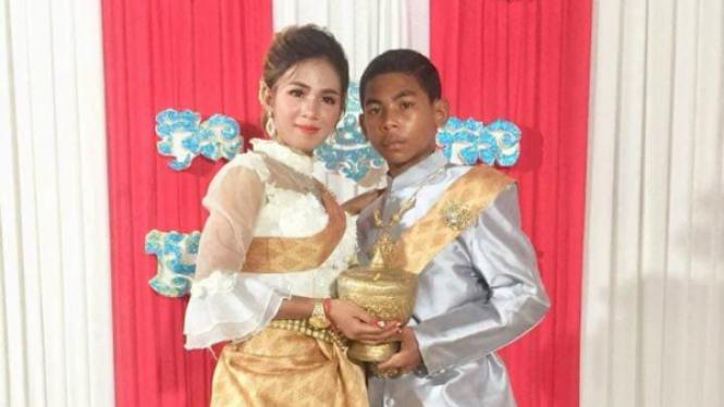 Gadis 21 tahun menikah dengan laki-laki 14 tahun