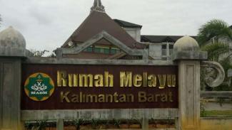 Rumah Melayu Kalimantan Barat.