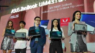 Peluncuran Asus Zenbook Flip UM462 dan Asus  Zenbook UM431