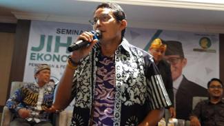 Wakil Ketua Dewan Pembina Partai Gerindra, Sandiaga Salahuddin Uno.