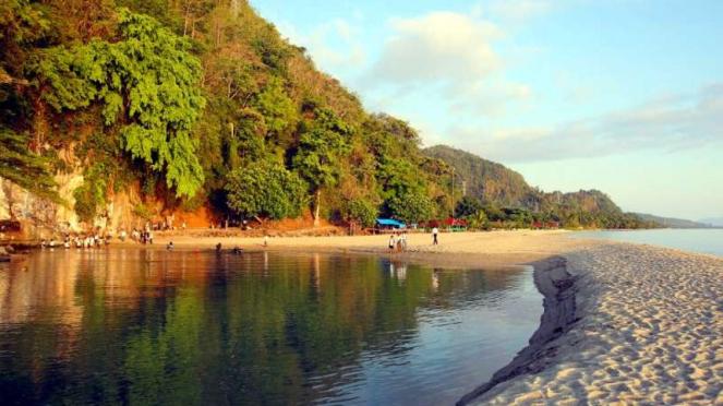 Sungai Tamborasi di Kolaka