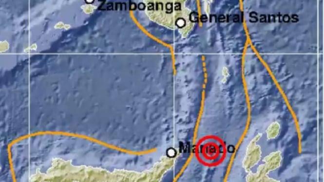 Gempa di Bitung, Sulut