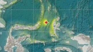 BMKG mengeluarkan peta gempa Maluku.