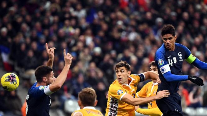 Prancis Lolos Kualifikasi Piala Eropa 2020