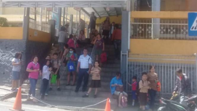 Sekolah di Manado liburkan siswanya karena gempa susulan