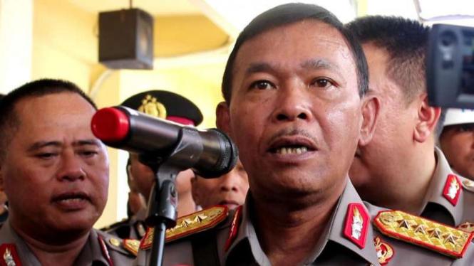 Kapolri Jenderal Idham Azis.