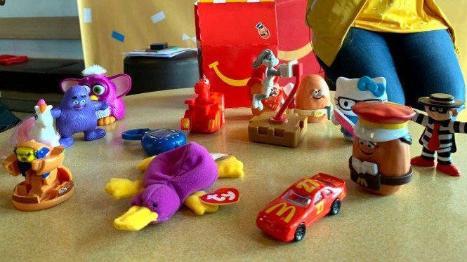 Mainan Happy Meal edisi terbatas