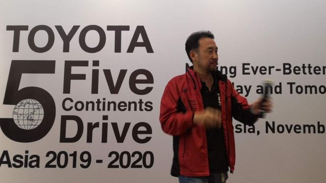 Presiden Direktur PT Toyota-Astra Motor Yoshihiro Nakata