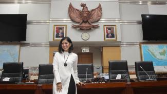 Ketua Komisi I DPR RI Meutya Hafid