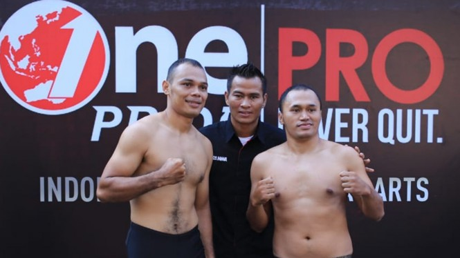 Timbang Badan Jelang One Pride Fight Night 34