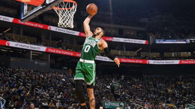 Pemain Boston Celtics, Jayson Tatum.