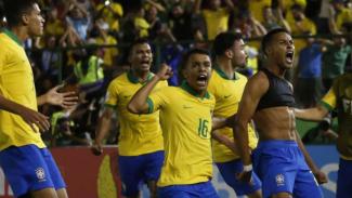 Pemain Timnas Brasil U-17.