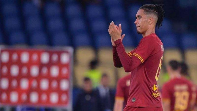 Pemain belakang AS Roma, Chris Smalling