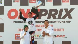 Juara nasional Oneprix 2019, Fitriansyah Kete