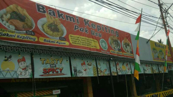 Restoran Bakmi Kepiting Pak Usu di Pontianak, Kalimantan Barat