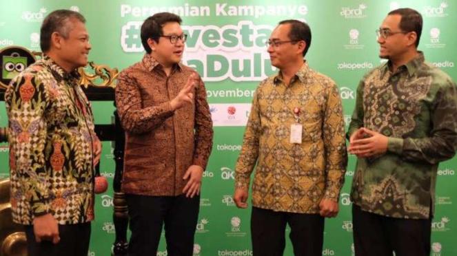 Peresmian Kampanye #InvestasiAjaDulu di Jakarta (18/11/2019)
