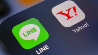 LINE merger dengan Yahoo Jepang