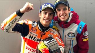 Marc dan Alex Marquez.