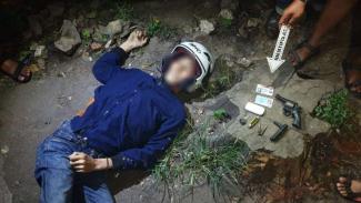 Todong Polisi Depok, Begal Tewas Didor