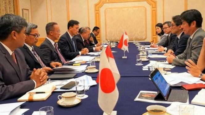 Menperin Agus Gumiwang bertemu para pelaku industri di Tokyo, Jepang