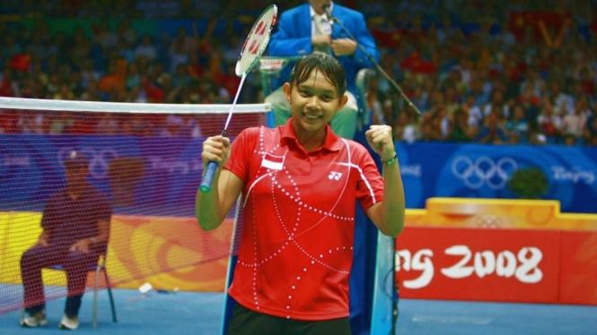 Peraih medali perunggu Olimpiade Beijing 2008, Maria Kristin Yulianti