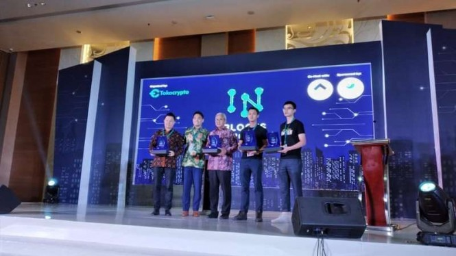 Pembukaan Indonesia Blockchain Conference