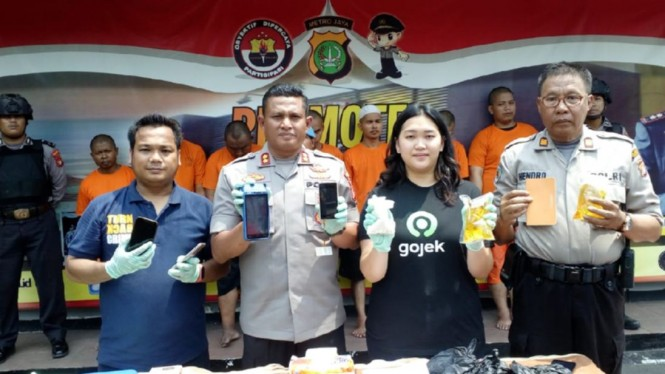 Komplotan Pelaku Order Fiktif Gojek Senilai Ratusan Juta Dibekuk