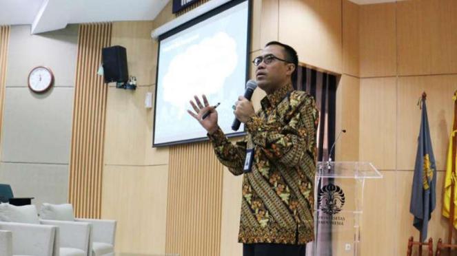 Direktur Utama PT Asuransi Jasa Indonesia (Jasindo), Edie Rizliyanto.