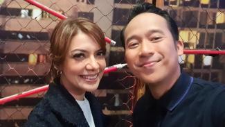 Najwa Shihab dan Denny Cagur.