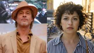 Brad Pitt dan Alia Shawkat.