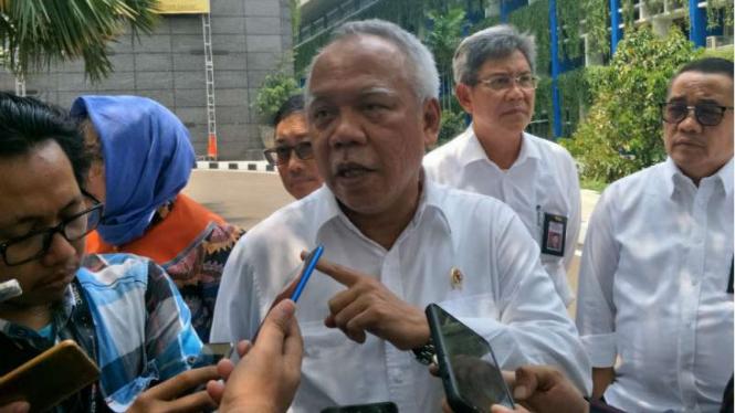 Menteri PUPR, Basuki Hadimuljono