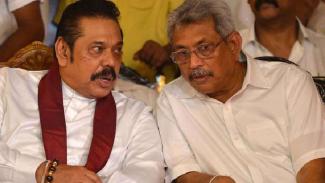 Mahinda dan Gotabaya Rajapaksa.