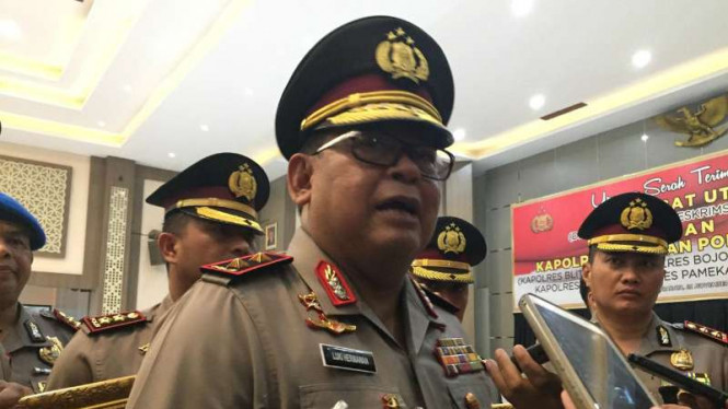Kepala Kepolisian Daerah Jawa Timur Inspektur Jenderal Polisi Luki Hermawan