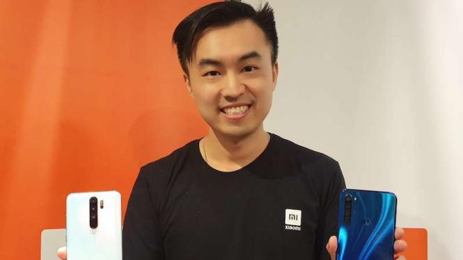 Alvin Tse, Country Director Xiaomi Indonesia.