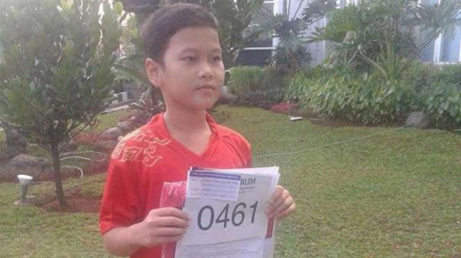 Nurul Tetra Junia Matondang saat baru bergabung dengan PB Djarum.