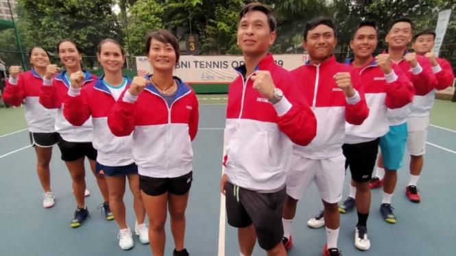 3 Sektor Unggulan Teratas, Tim Tenis Indonesia Bidik Lampaui Target