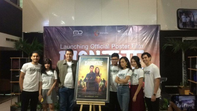 Acara launching poster film Dignitate