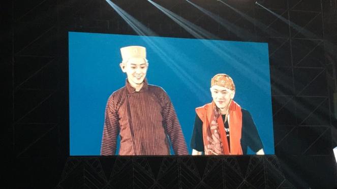 Chanyeol dan Baekhyun EXO