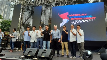 Acara pre launching Mandalika Grand Prix Association di Jakarta