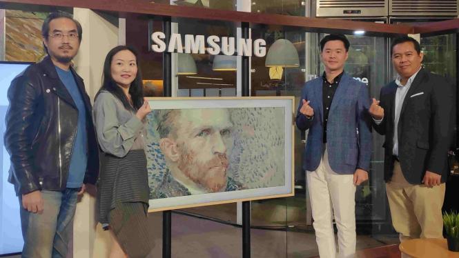 Samsung perkenalkan TV The Frame 2019