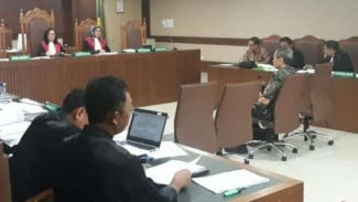Sidang kasus dugaan suap proyek BHS, Angkasa Pura II, di Pengadilan Tipikor.