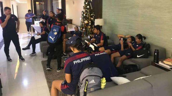 Tim sepakbola wanita Filipina di SEA Games 2019