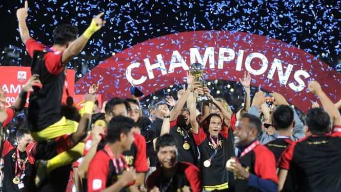 Kalahkan Persita Tangerang, Persik Kediri Juara Liga 2 2019