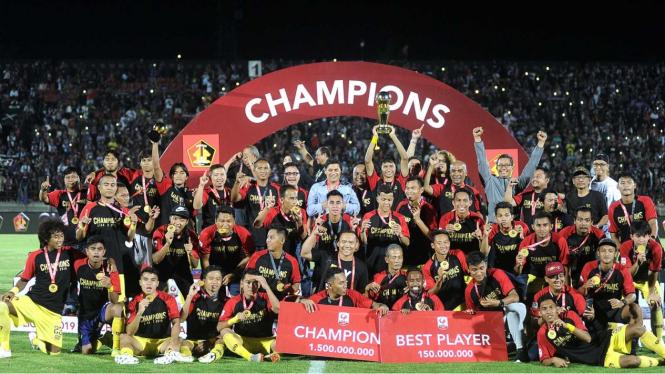 Kalahkan Persita Tangerang, Persik Kediri Juara Liga 2