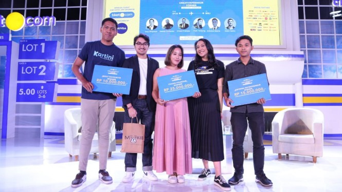 Pemenang Competition Creativepreneur.