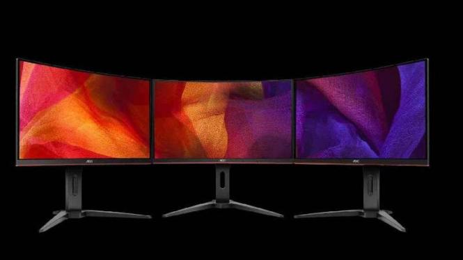 Ilustrasi layar LCD.