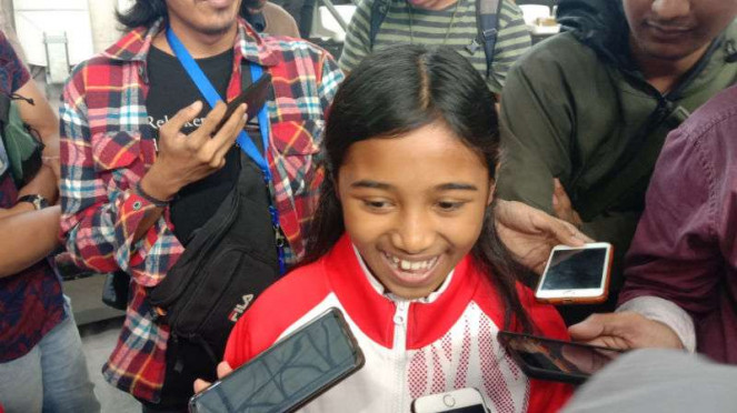 Atlet skateboard Indonesia, Kyandra Kailana Susanto.
